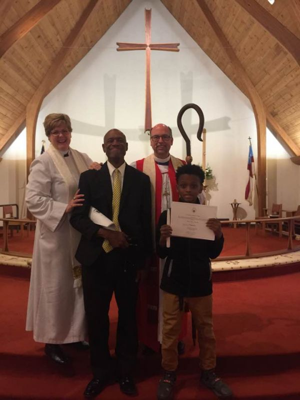 New Vestry Members, Delegates for Council, and Members